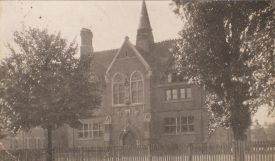 Postcard of Lower School, Rugby. Pre 1904. | Warwickshire County Record Office reference PH 352/152/270. Photograph by The Rugby Press.