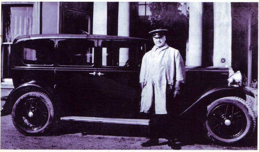 Mr William Worrall in the employ of Garside Phillips | Nuneaton Memories