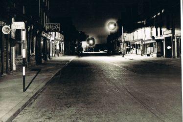 Abbey Street, Nuneaton at Night