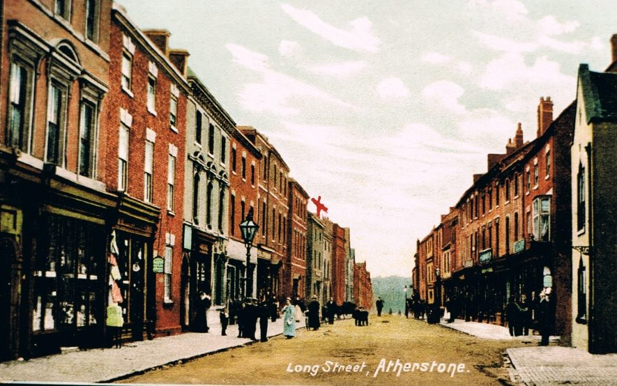 Atherstone, Long Street. | Peter Lee Collection