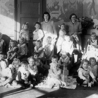 Bulkington School in the 1940s. | Photograph courtesy of the John Burton collection.