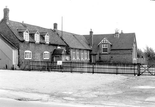The Old School, Lillington, 1967. | Warwickshire County Record Office reference CR 3379/4