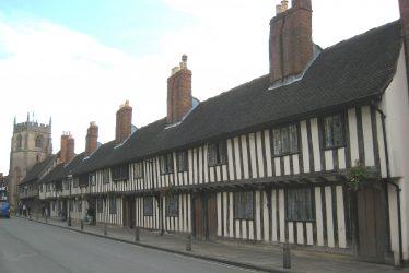 Almshouse in Stratford-upon-Avon