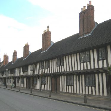 Almshouse in Stratford-upon-Avon