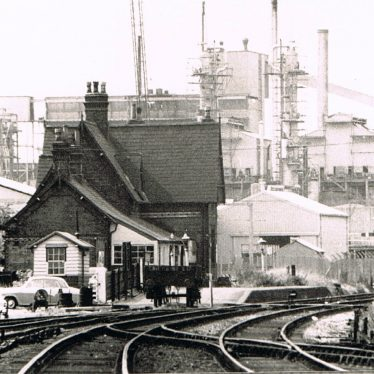 Photo of Coleshill Station and Lurgi Plant