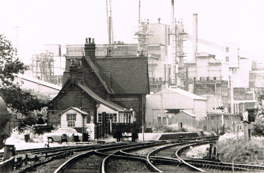 Coleshill Station and Lurgi Plant | Image courtesy of Peter Lee