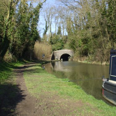 The Oxford Canal at Newbold on Avon