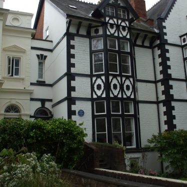 House where Randolph Turpin was born and lived, Leamington.   Photo by Benjamin Earl.