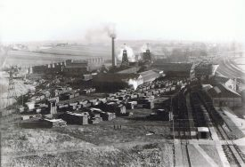 Haunchwood Tunnel Colliery, photographed 1946 for the colliery company. | Photograph by Eric Dudley Studios. From the Nuneaton Local History Group Collection