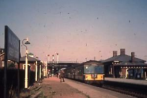Nuneaton Abbey Street Station in the 1960s