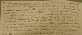 Letter from J G Jackson to Ed Willes discussing the construction of the Mill Bridge | Reproduced by permission of Warwickshire County Record Office. Reference CR 4141/5/167/47