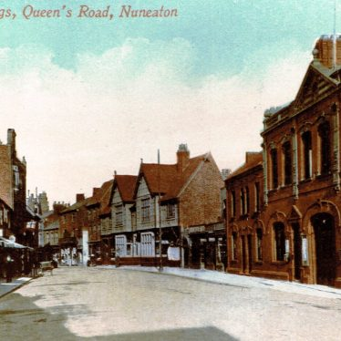 Old Photos of Nuneaton Roads
