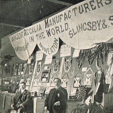 Photo of Slingsby's silk manufacturers, Nuneaton - Exhibition Stand