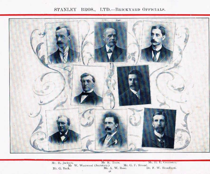 Brickyard Officials 1902