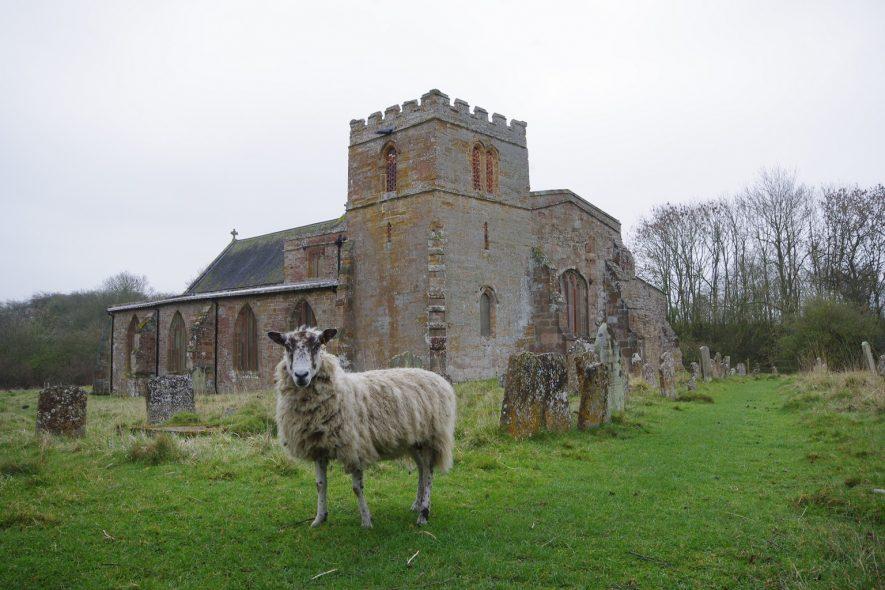 Wolfhampcote Church, 2014. | Photograph (c) Derek Earl