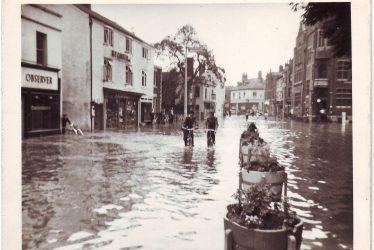 Nuneaton Floods
