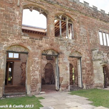 Photos of Astley Castle - the Ruins