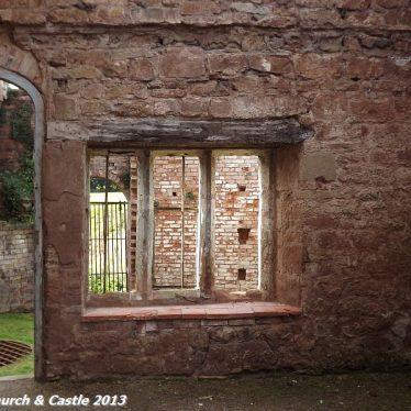 Astley Castle interior | Photo courtesy of Nuneaton Memories