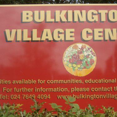 Bulkington Village Centre Front Sign
