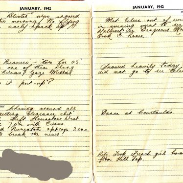 World War II Diary Extracts From a Nuneaton Soldier