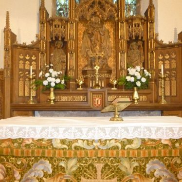 Altar and East Window | Nuneaton Memories