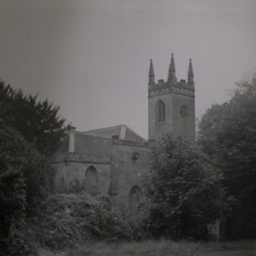 Chapel of St Mary Magdelene, 1971. | Warwickshire County Record Office reference CR 3090/10.