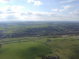 View of Hillmorton in 2002, taken from 820ft Mast No.2. | Photo supplied by Malcolm Hancock.