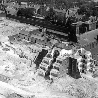 Demolition of Warwick Prison. 1934. | Warwickshire County Record Office reference PH143/1042.