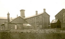Exterior view of Warwick Prison, Cape Road. 1910. | Warwickshire County Record Office reference CR 2902/84.