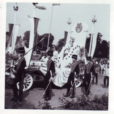 Nuneaton Carnival Queen Linda Graham, 1966. | Nuneaton Memories