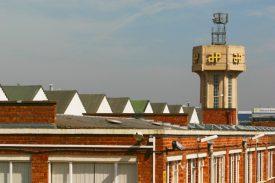 AP water tower was demolished in 2003 | © Nigel Wilkins