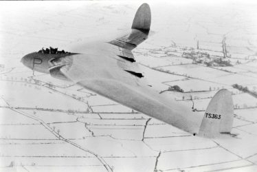 The 'Flying Wing' Crashes