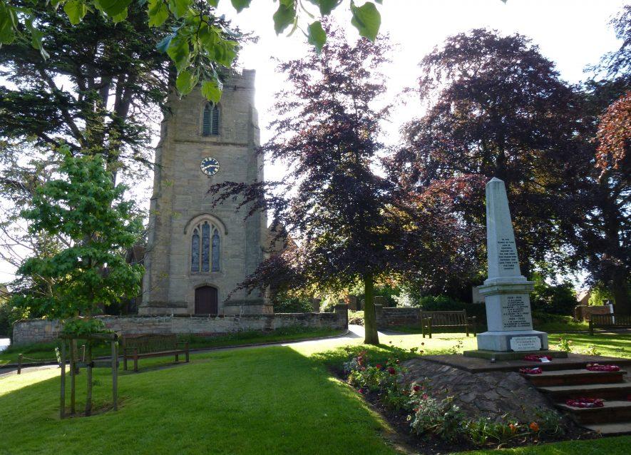 St Margaret's Church, Whitnash | Photo by Ron Thorpe