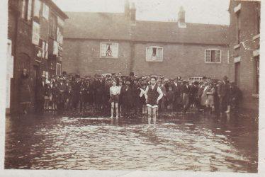 Nuneaton Floods 1932