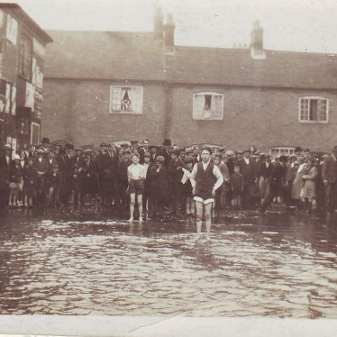 Nuneaton Floods 1932
