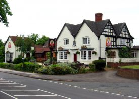 The Wilson Arms as it is today. | Photo by G.C. Dean, and reproduced courtesy of Knowle Local History Society