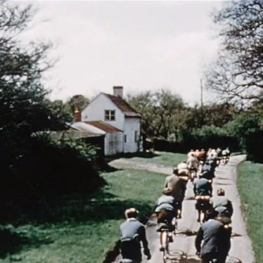 Cycling in Warwickshire in the 1950s