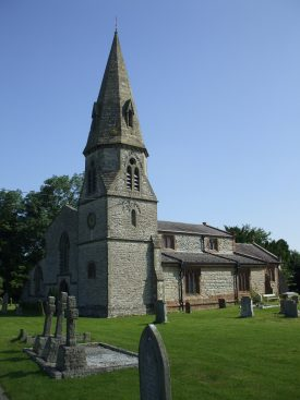 Church of St. Peter, Bourton on Dunsmore.   Photo by Benjamin Earl.