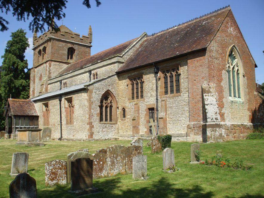 Church of St. Nicholas, Frankton. | Photo by Benjamin Earl