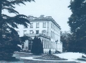 Photograph of Baginton Hall, c.1880s. | Photo reproduced by permission of https://www.baginton-village.org.uk/