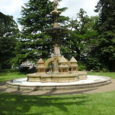 The Hitchman Fountain. Built in 1869 after a design by John Cundall who lived in Gower House from around 1875 until his death in 1889. | Photo by Richard Neale