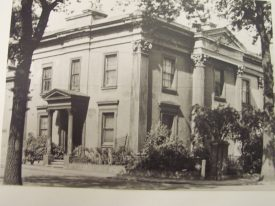 Warneford House taken from Radford Road, c. 1900. | Warwickshire County Record Office reference PH1035/A6451.