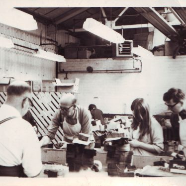 Finn's Shoe Factory, Nuneaton | Photo courtesy of Nuneaton Memories and Mark Hadley