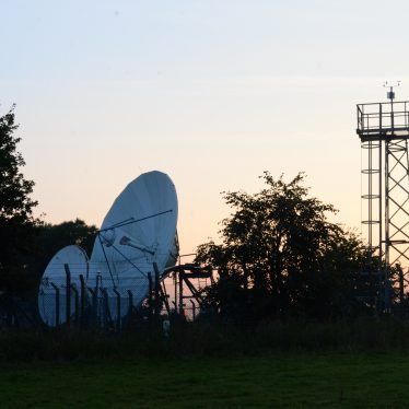 Lawford Heath Satellite Communication Centre, 2014. | Photograph (c) Peter Gray
