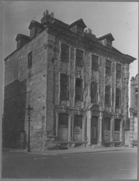 Photograph of The Abbotsford, temporary home for the Museum's collections. | Warwickshire County Record Office reference PH143/740