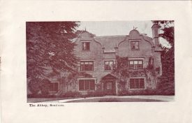 'The Abbey', Southam. Photo possibly from the Edwardian period. | Photo supplied by David Kings