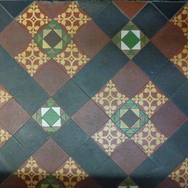 Victorian encaustic tiles. | Picture by Robert Pitt