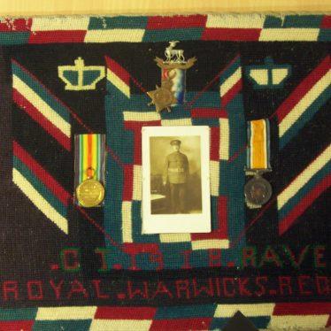 Charles Thomas Raven in World War I