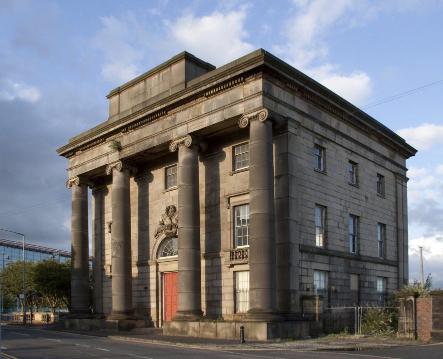 Curzon Street railway station. | Phoograph by Tony Hisgett [CC-BY-2.0 (https://creativecommons.org/licenses/by/2.0)], via Wikimedia Commons.