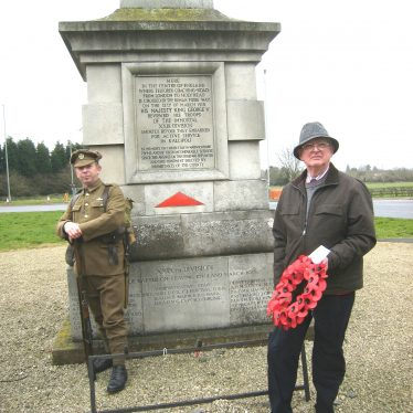 The First World War in Stretton on Dunsmore